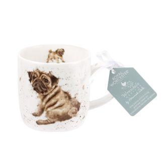 Wrendale Pug Love Mug