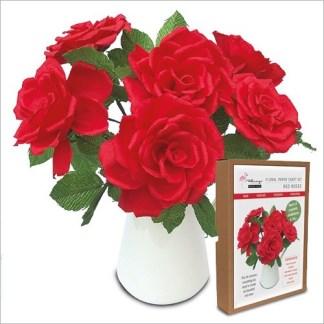 roses papercraft kit