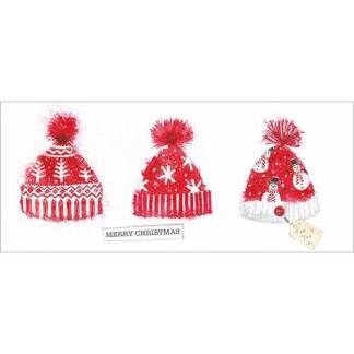 Bobble Hats Christmas Cards