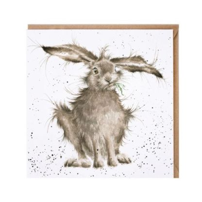 'Hare Brained' card