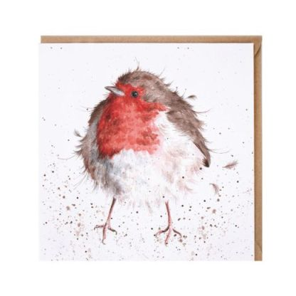 The Jolly Robin Card