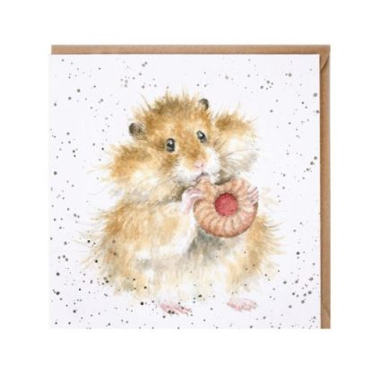 The Diet Starts Tomorrow Hamster Card
