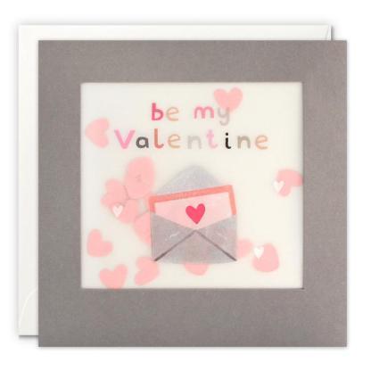 Be My Valentine Shakies Card