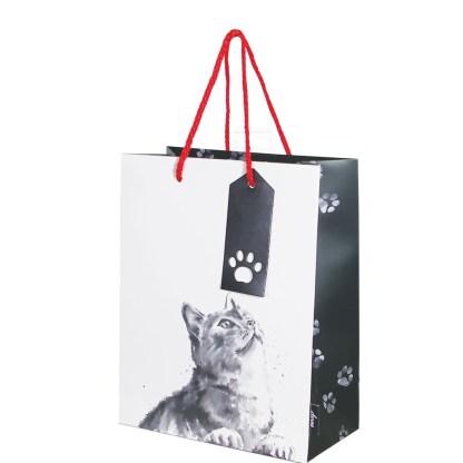 Cats medium gift bag