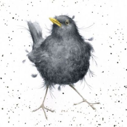 Sing a Song of Sixpence Blackbird card
