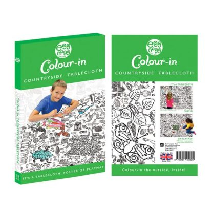 Colour in Countryside Tablecloth or Giant Poster