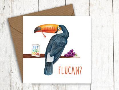 Flucan get well card