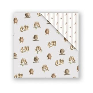 What a Hoot double sided gift wrap