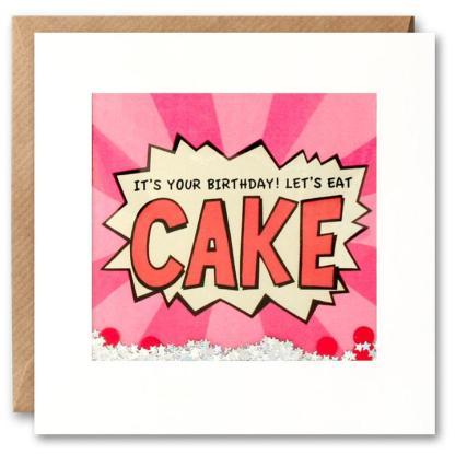 Cake Shakies birthday card