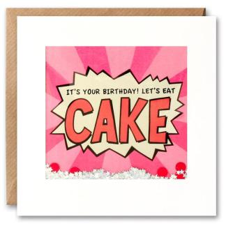 Cake Shakies birthday card