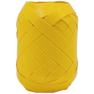 yellow kraft ribbon egg