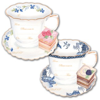 Teacup Invitation Notecards