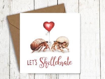 Lets Shellebrate shellfish card