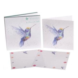 Hummingbird notecard pack