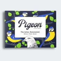 dawn chorus pigeon folded letters