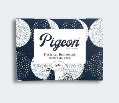 Moonlight pigeon folded letters