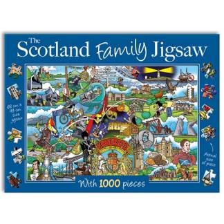 scotland family jigsaw