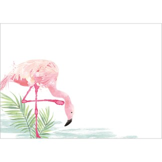 Pink Flamingos Notecards