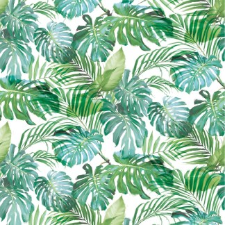 Tropical Palms gift wrap