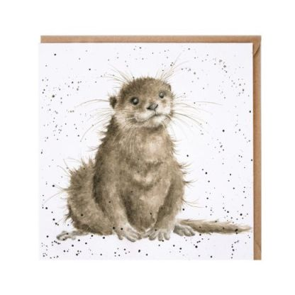 River Gent Otter card