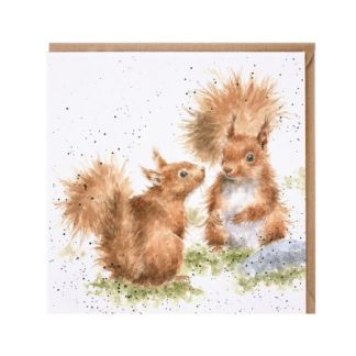 between friends red squirrel card