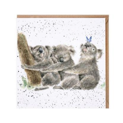 Three of a kind koala card