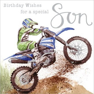 Special Son Birthday Card