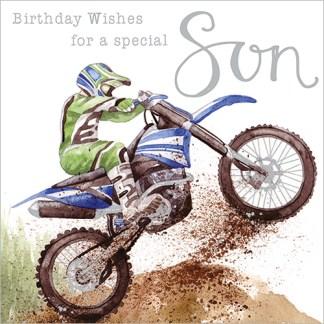 Special Son Birthday Card