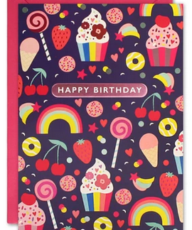 Sweets Kids Birthday Card