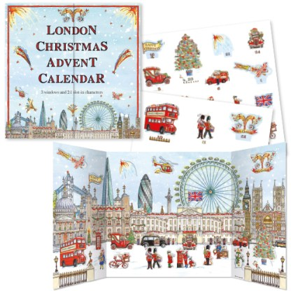 London Festive Panorama Advent Calendar