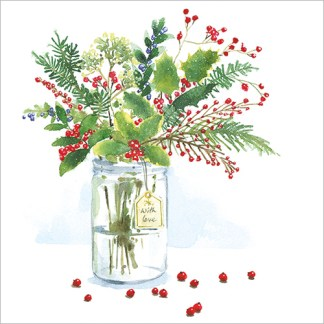 A Jar of Christmas Cards