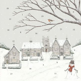 Country Christmas advent calendar