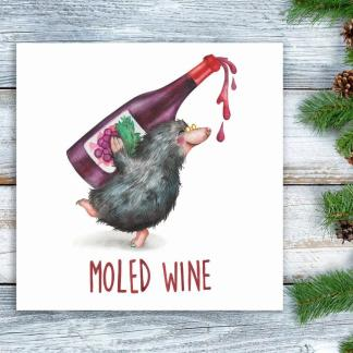 Moled Wine Christmas card