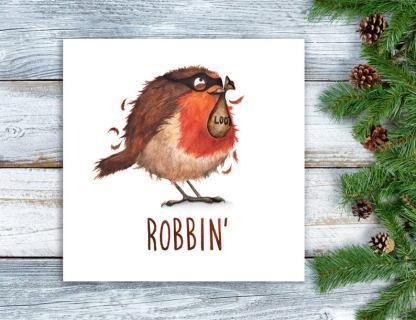 Robbin Christmas card