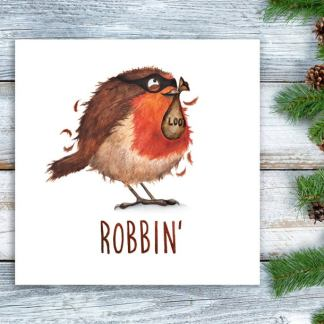 Robbin Christmas card