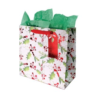 Jolly Holly Gift Bag large
