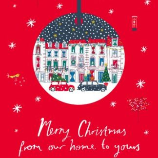 The Christmas Houses Our Home to Yours Detachable Decoration