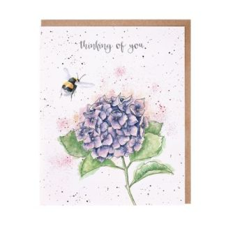 'Hydrangea' Thinking of You Card