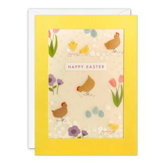 Easter Chicken Shakies Card