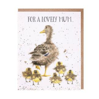 Lovely Mum Duck card