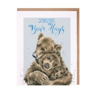 Wrendale Sending Bear Hugs card