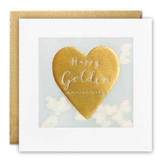 Golden Anniversary Shakies Card