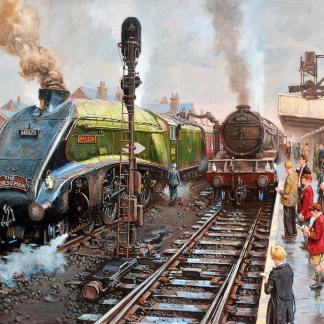 Spotters at Doncaster jigsaw