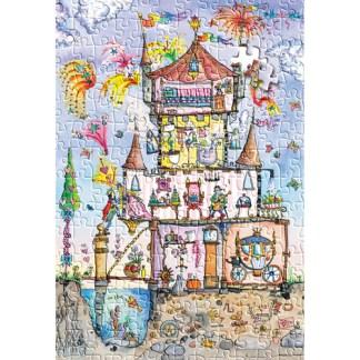Cut Thru Princess Palace Jigsaw Puzzle