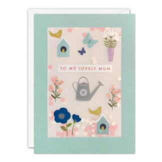 Gardening Mothers Day Shakies Card