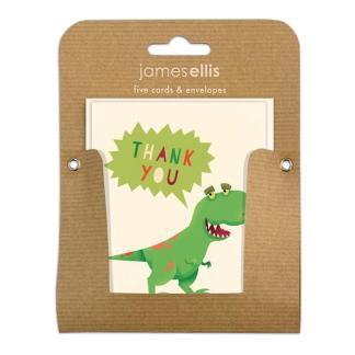 Dinosaur Thank you notelets