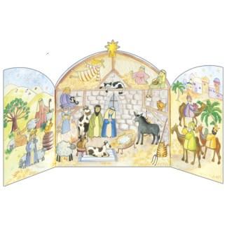 Bethlehem Stable Advent Calendar