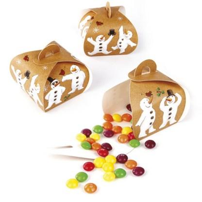 Snowman Mini Gift Boxes