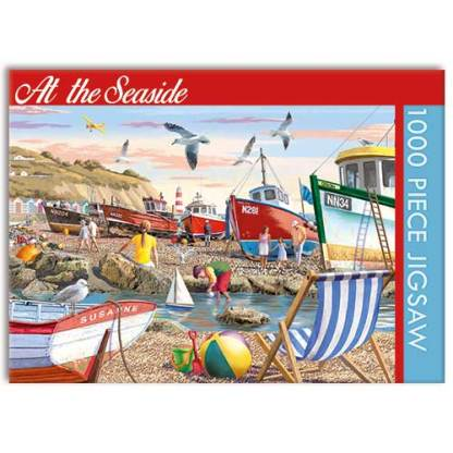 At the Seaside Jigsaw Puzzle