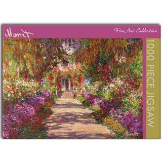 Garden Path at Giverny Jigsaw Puzzle